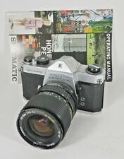 Honeywell Pentax Spotmatc 35mm SLR Camera w/ Tamron 28-70mm Zoom Macro Lens