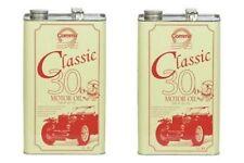 2x comma Classico 30 MOTORE OLIO 5 LITRI-SAE 30 API SA-OFFERTA SPECIALE!!!