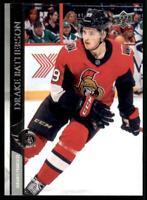 2020-21 UD Series 2 Base French #378 Drake Batherson - Ottawa Senators