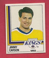 RARE 1987 KINGS # 279 KINGS JIMMY CARSON ROOKIE   STICKER CARD
