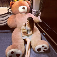 2019 Hot Giant Large Teddy Bear Plush Soft Toy Doll Bears Kids Gift 60-340cm