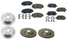 For Honda Complete Brake JOB 4-Brembo Rotors & Bosch Quiet Cast Brake Pads BC865