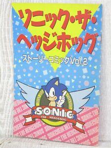 SONIC THE HEDGEHOG Story Comic 2 Ltd Manga Booklet 1991 Book