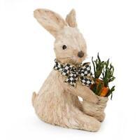 Authentic Mackenzie Childs    Garden Patch Bunny - Small NEW