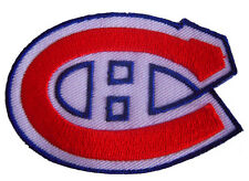 New NHL Montreal Canadiens Logo embroidered iron on patch. 3 x 2 inch (IB24)