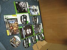 Lot of 4 Call of Duty Games WW 3 Black Opps Ghosts