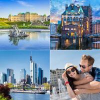 5 Tage Urlaub 33 Hotels zur Wahl - 20 Städte München, Dresden uvm. + Frühstück
