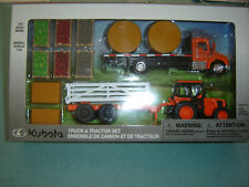 KUBOTA TRUCK & TRACTOR FARM SET 1/43 NEW DEALER ITEM ONLY IN STOCK