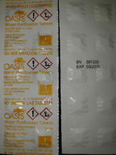 100 Oasis Water Purification Tablets 8.5mg - Expiration...