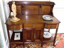 Beautiful Small Antique Dresser Sideboard 114 cm high 128 cm long 66 cm deep