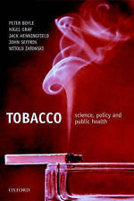 Tobacco and public health: science and policy, , Used; Good Book