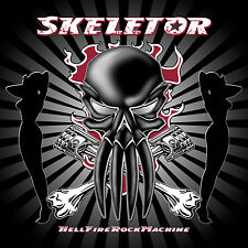 SKELETOR - HellFireRockMachine CD 2004 German HellFire Rock 'n' Roll *NEW*
