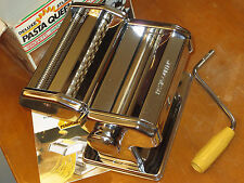 Deluxe Atlas Pasta Queen Noodle Ravioli Making Machine Maker by Marcato