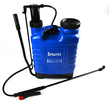 18Litre Pressure Sprayer Weed Killer Fertiliser Nozzle Chemical Knapsack LTR