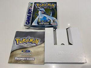Pokemon Silver Box & Manual - NO GAME