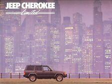 1987 Jeep Cherokee Limited (NOS) Dealer Sales Brochure