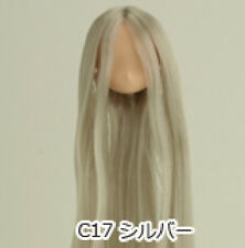 Obitsu Doll 11cm hair implantation head for natural body (11HD-D01NC17) Silver