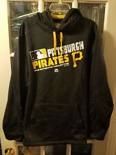 Pittsburgh Pirates Majestic Thermabase Fleece-Lined Hoodie Adult XL Polanco NWOT