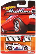 CORVETTE C6R - 2016 Hot Wheels Heritage - F Case - Redline