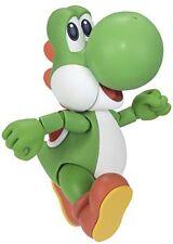 Bandai Tamashii Nations S.h. Figuarts Yoshi Super Mario Bros Action Figure