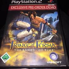 Prince of Persia sabbie del tempo pre ordine DEMO esclusiva RARO PLAYSTATION 2 Ps2