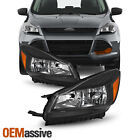 For 2013-2016 Ford Escape Halogen Headlights Side Leftright Lights 13 14 15 16