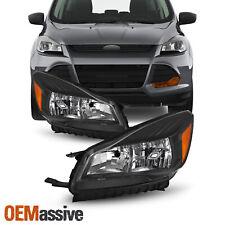 For 2013-2016 Ford Escape Halogen Headlights Side Left+Right Lights 13 14 15 16