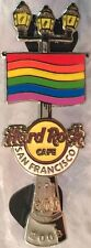 Hard Rock Cafe SAN FRANCISCO 2008 GAY PRIDE PIN Rainbow Flag Lamp Post HR #44082
