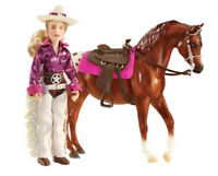 Breyer Classics Collection #61053 Kaitlyn Cowgirl Doll Set! (Horse Sold Separat