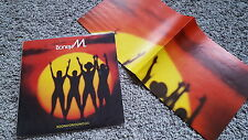 Boney M. - Boonoonoonoos Disco LP SPAIN mit Poster