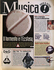 MUSICA 45 1996 Iggy Pop Charlie Haden Paul McCartney Antonella Ruggiero Soleil