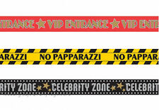 3  30ft Hollywood Theme Party Tape VIP Entrance Banner Prom Birthday Decorations