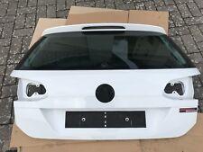 VW Golf 7 Kombi Heckklappe Original Weiß Pure White LC9A