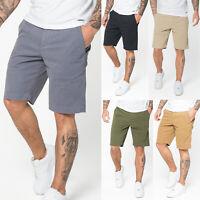 883 Police Mens New Chino Cotton Summer Stretch Designer Cargo Half Pants Shorts