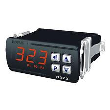 N323-Pt1000 Termostato elettronico, Ingresso Pt1000, 3 uscite relè Alimentazione