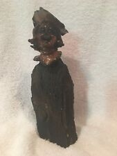 Apple Carving Folk Art Sculpture by Isadore Shep Shapiro - SIGNED