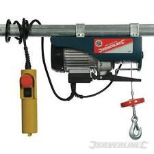 Electric Lifting Winch Hoist 250kg Scaffold Mounted for Workshop/Garage