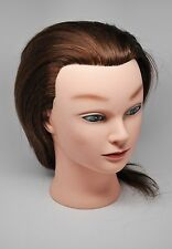 Ms Lori-Kin Mannequin Head 100% Human Hair Brand New Never Cut FREE SHIPPING