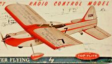 "21"" ROARING 20 Balsa Model Plane Airplane Kit RC FF .010 .020 .024 TOP FLITE RC5"