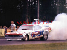 "Don ""the Snake"" Prudhomme 1971 ""Hot Wheels"" Plymouth 'Cuda Funny Car PHOTO!"