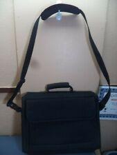 "Kensington Laptop Computer Bag Black Nylon/Felt/Foam 14"" W X 12"" H X 2.5"" D VGC"