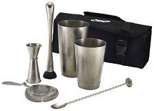 7pc Vintage Cocktail Shaker Mixer Set, Bar, Gift Set