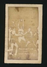 1948 Topps Magic (All-American Basketball) -#6 MANHATTAN beats DARTMOUTH