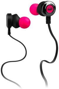 Monster Clarity HD Neon Pink In Ear Earbud Headphones with Microphone