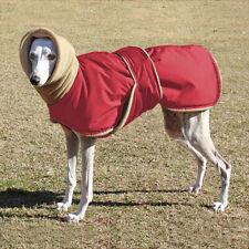 Greyhound Dog Winter Coat Waterproof Warm Padded Fleece Jacket Clothes With Hole