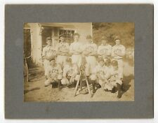 PHILLIPSPORT NY Antique Vintage Athletics Photo BASEBALL TEAM Sports Barber Shop