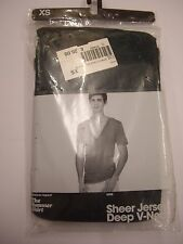 "American Apparel 100% Cotton ""The Summer Shirt"" Dark Green T Shirt Size XS BNIP"
