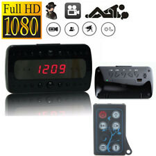 HD 1080P Alarm Clock Night Vision Spy Camera Motion DVR Vision Record Nanny Cam