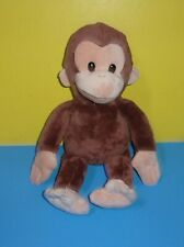 """Curious George Plush Monkey 16"""" Applause by Russ Stuffed Animal Character"""