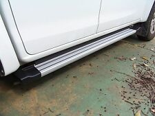 EGR Side Steps for Holden RG Colorado Dual or Extra Cabs - Silver
